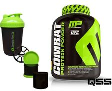 MUSCLEPHARM MP COMBAT PROTEIN POWDER SHAKE LEAN MUSCLE 1.8kg - 4.54kg FREE SMART