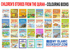 CHILDREN'S STORIES FROM THE QURAN - GOODWORD ISLAMIC 29 COLOURING BOOKS GIFT