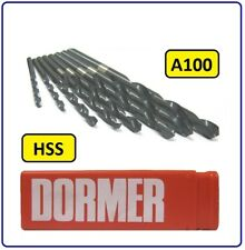 HSS JOBBER DRILL BITS FOR USE ON STEEL / METAL 1.05MM TO 3.0MM A100 DORMER HSS