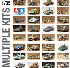 TAMIYA 1/35th MILITARY ARMY WORLD WAR II PLASTIC MODEL KITS EXTRA LARGE SIZE