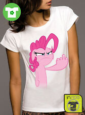 T-shirt girl PINKIE PIE FUCK My Little Pony Mio Mini Pony MAGLIETTA BIO