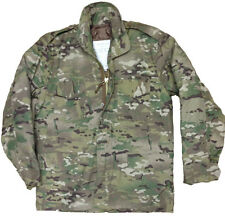 MULTI-CAM US M65 FIELD JACKET QUILTED LINER MENS MTP MILITARY ARMY COMBAT COAT
