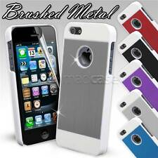 For Apple iPhone SE 5S 5 Case Durable Brushed Metal Aluminium Cover 100% Fits
