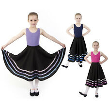 Katz Dancewear Girls Ladies Plum Dance Ballet Pull On Georgette Chiffon Skirt RAD ISTD KDGS01