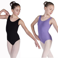 Amy Girls Ladies BALLET LEOTARD Cotton Sleeveless Dance Leotard RAD Style Exam