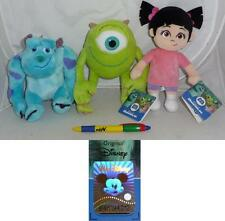 Stupendo Peluche MONSTERS INC and Co 20cm Originale Ufficiale DISNEY Pixar NUOVO