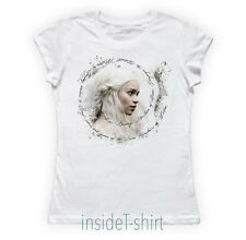 Maglietta Girl DAENERYS Targaryen Game of Thrones Trono di Spade t-shirt BIO