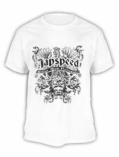 TEAM JAPSPEED PROFESSIONAL DRIFT TEAM GENUINE NEW WHITE BLACK CREST T-SHIRT