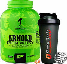 MP MUSCLEPHARM ARNOLD SCHWARZENEGGER SERIES IRON WHEY PROTEIN 5LBS or 2LBS