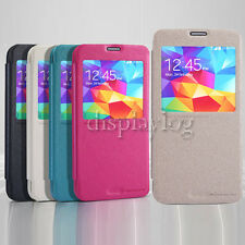 Nillkin Sparkle Series S View Slim Flip Leather Case For Samsung Galaxy S5
