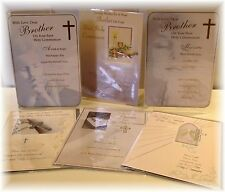 Brother Son Grandson  First Holy Communion Card. First Holy Communion Cards