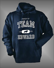 TEAM EDWARD CULLEN BELLA JACOB WOMENS KIDS GIRLS TWILIGHT HOODIE SWEATSHIRT