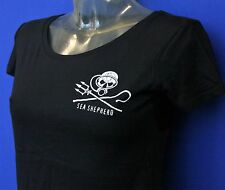 Sea Shepherd Jolly Roger  Scuba Diver,  Ladies fitted t-shirt, Whale wars