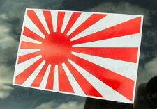 Rising Sun Flag Sticker Small - Large Size JDM Decal Japan Japanese 50mm - 500mm