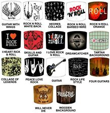I Love Rock & Roll Light Shades Rock`n`Roll Bands Rock and Roll Music Lampshades