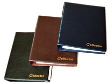 HOLDER COIN ALBUM FOR 120 COINS IN COIN HOLDERS 5 color Great for BRITISH COINS