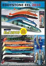 FISHING SANDEEL LURES EDDYSTONE EEL 2010  WEIGHTED LURES  3 SIZES AVAILABLE