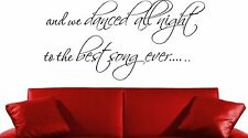 ONE DIRECTION SP BEST SONG EVER WALL ART DECAL STICKER GIFT GIRLS BEDROOM