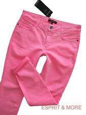 More & More Jeans NEON Print Gr. 36-40 HOSE  Coloured  STRETCH SLIM RÖHRE