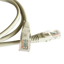1 to 50 Meter RJ45 Cat5e Network Ethernet Internet Cable Lead LAN Patch Grey Lot