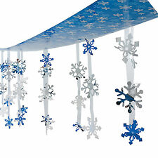 CHRISTMAS Winter  Frozen Party Decoration Dangling SNOWFLAKE CEILING COVER