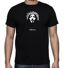 NEW MENS PRINTED JESUS Christ Face Christian Religious T-SHIRT Funny MMA Dope