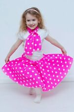 Bambini Da Bambina Rock N Roll Full Circle A Pois Jive Gonna 50's Costume