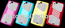 Perforated Silicone Back Cover for Sony Ericsson Xperia Arc S X12 LT15i LT18i