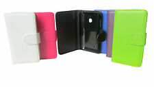 FLIP LEATHER WALLET BOOK CASE CARD HOLDER COVER FOR NOKIA LUMIA 530 N530