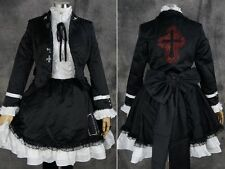 a-310 S/M/L/XL/XXL Vocaloid Miku Secret Police Cosplay Kostüm Set costume dress