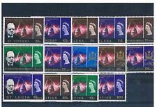 GB Commonwealth Stamps - Caribbean & Americas Sets