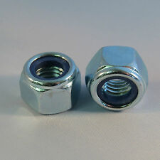 M4 M5 M6 M8 M10 M12 Nyloc Nuts, Steel Zinc Plated, Type P Grade 8 DIN 985