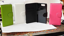 FLIP LEATHER WALLET BOOK CASE CARD HOLDER COVER FOR SONY XPERIA Z3 MINI M55W