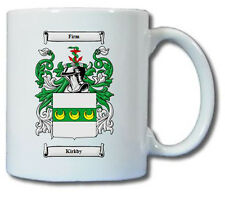 KIRKBY COAT OF ARMS COFFEE MUG