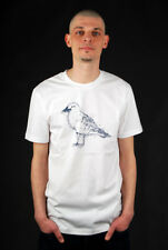 CLEPTOMANICX MAP GULL WHITE BASIC T-SHIRT