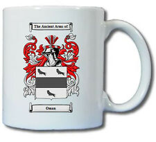 OMAN COAT OF ARMS COFFEE MUG