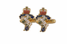 REME REGIMENT ENAMEL BOXED GIFT SET, CUFFLINKS, LAPEL PIN, TIE SLIDE