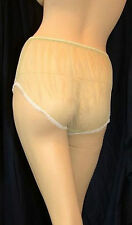 Vintage Panties Nylon Knickers Sheer See Through Vintage Panties Retro Burlesque