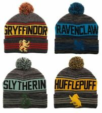 HARRY POTTER Beanie *Or* Scarf Gryffindor Slytherin Ravenclaw Hufflepuff House