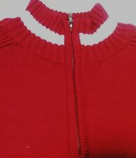 He Pullover/ Troyer, NEU, M-XXL, rot  (WHP042)