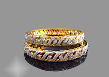 BAN99, American Diamond Designer Bangle For Women