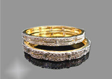 BAN102, Curvy Antique Diamond Bangle