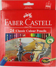 Faber Castell Water Colour & Classic Colouring Pencils Set Of 12, 24, 36 & 48