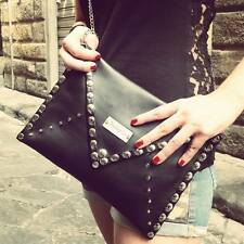 clutch bag, leather, made in italy, handmade, green, fuxia, red, black, yellow