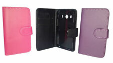 FLIP LEATHER WALLET BOOK CASE CARD HOLDER COVER FOR SAMSUNG GALAXY ACE 4 G357