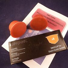 Refillable Coffee Pods for DOLCE GUSTO Machine - Reuseable Capsules - Free P&P!