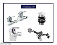 Chrome Sink Basin Mixer Bath Filler Shower Tap Bathroom Rio Range