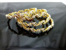 Daphne Sparkling AD studded Bangles, unquie, best for wedding event