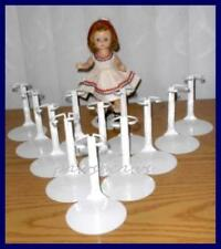 One Dozen 12 Kaiser Doll Stands for 8