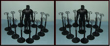 2 dozen 24 BLACK Kaiser Doll Stands For KEN  & Action Figures SHIPPING INCLUDED